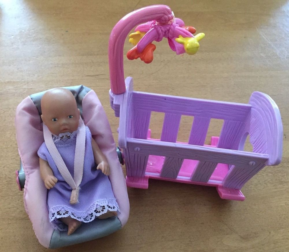 Zapf Creations Baby Born Mini World Carrier Amp Doll And