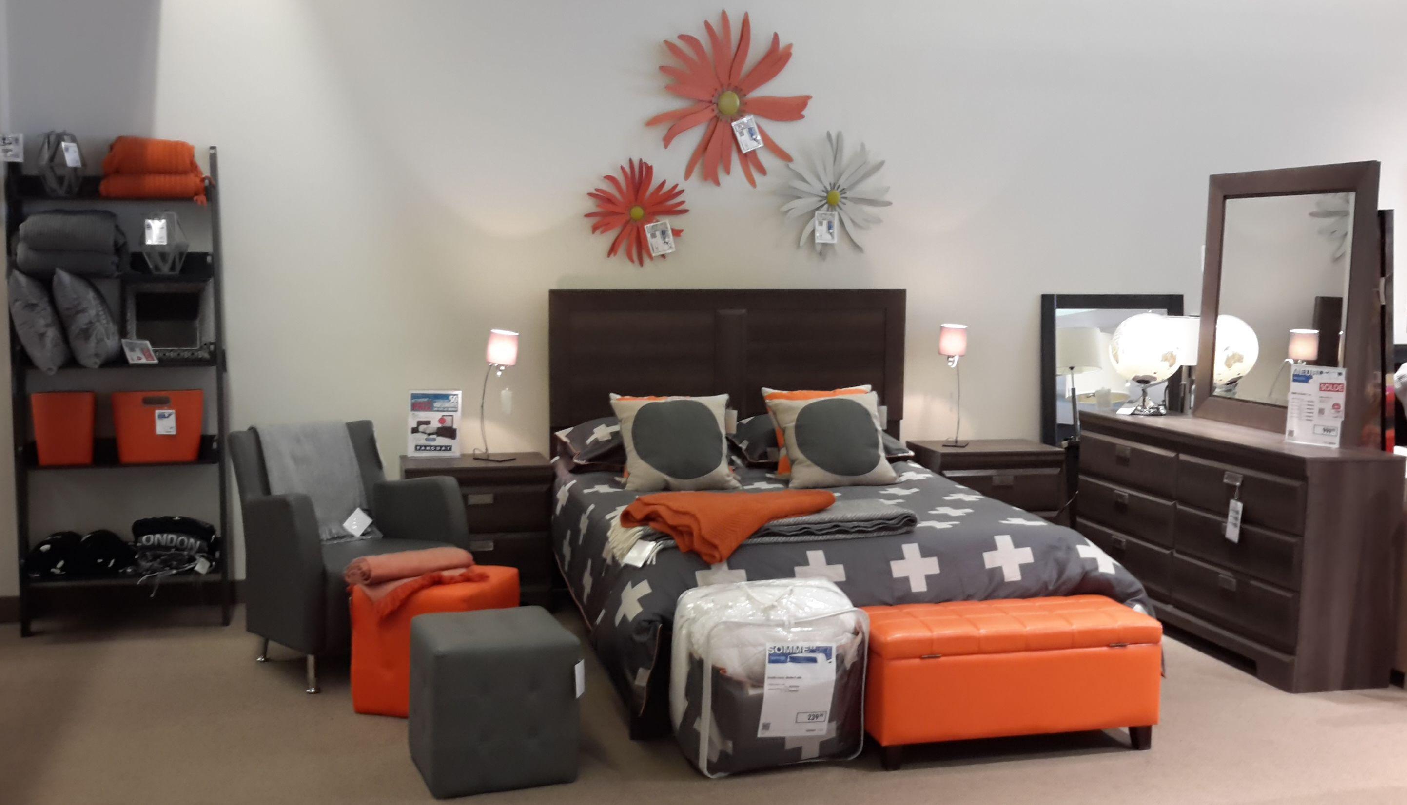 Orange et gris: deux couleurs qui se complètent parfaitement ...