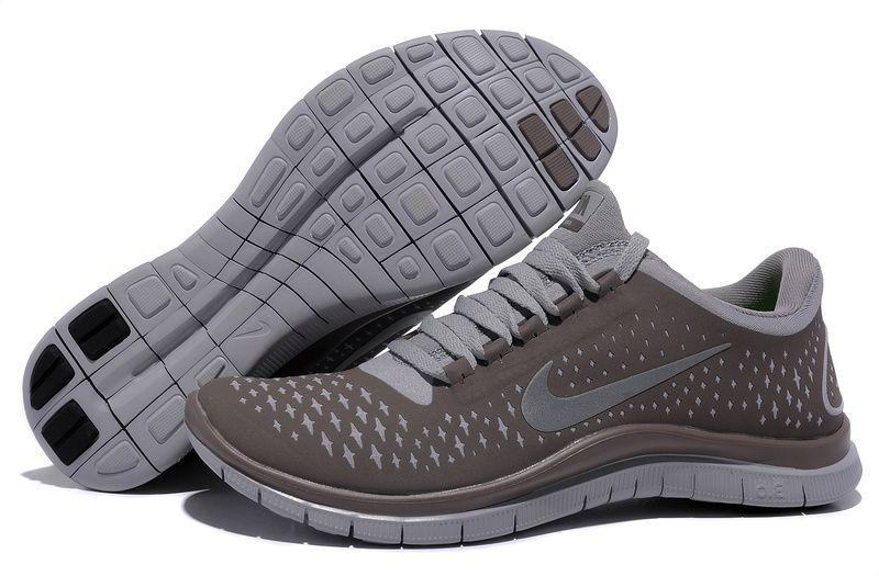 Fashion Nike Free 3.0 V4 Womens Light Bone Reflect Silver Iguana Outlet  $45.99 http:/