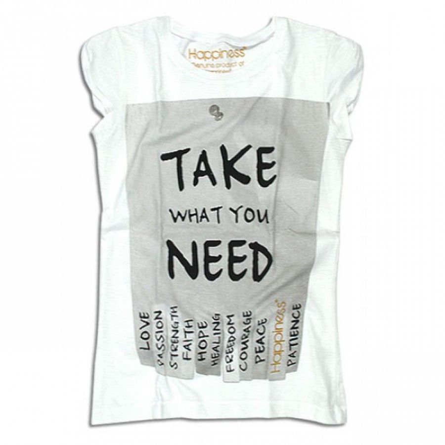T-shirt Donna - Take What You Need