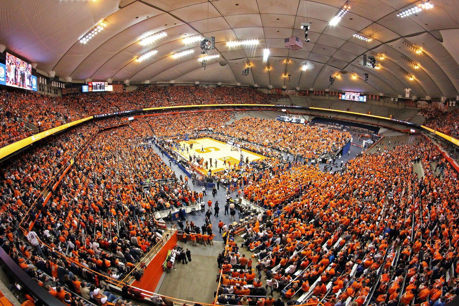 Carrier Dome Carrier Dome Syracuse Basketball Basketball