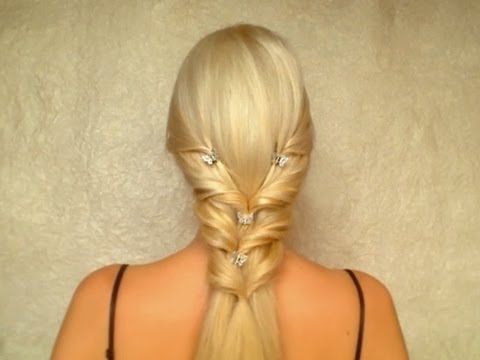Elegant Hairstyle For Long Straight Hair Unfortunate Video Marker