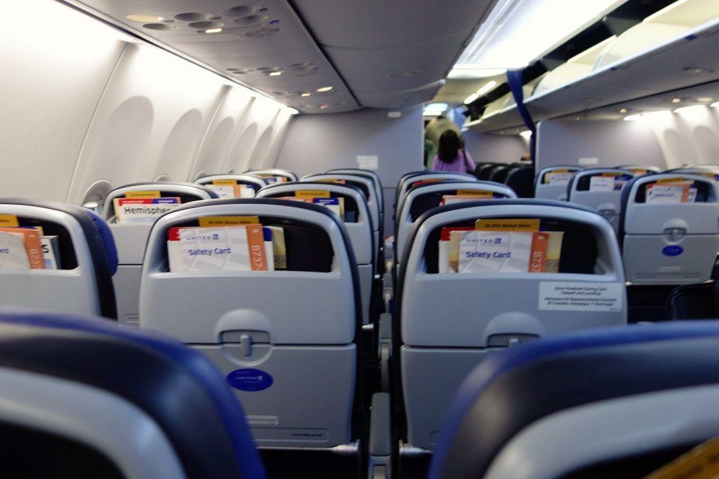 United Airlines Fleet Boeing 737 900 Main Cabin Economy Class Interior And Seats Configuratio