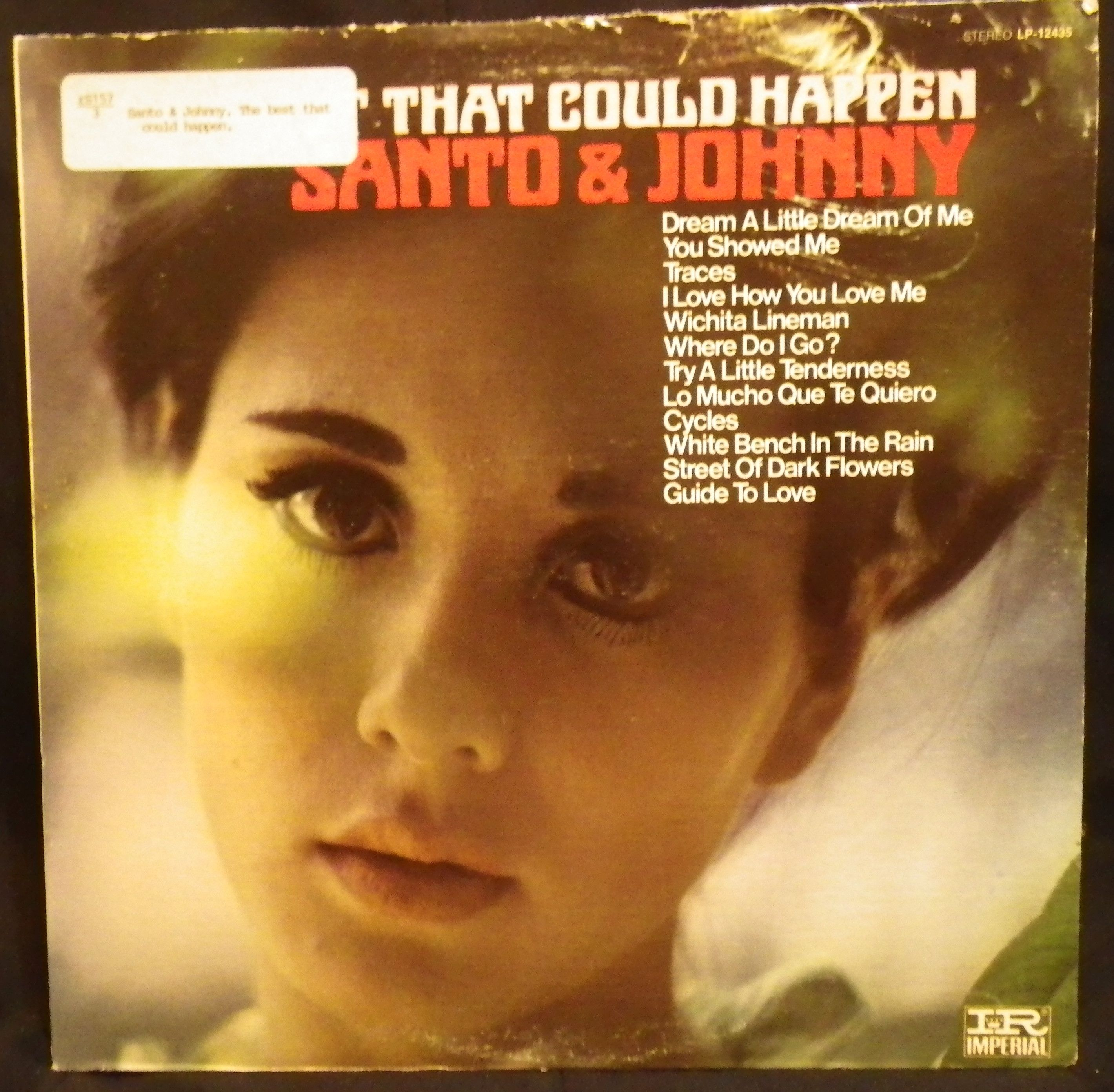 "The Best That Could Happen"" by Santo & Johnny Los Angeles Calif"