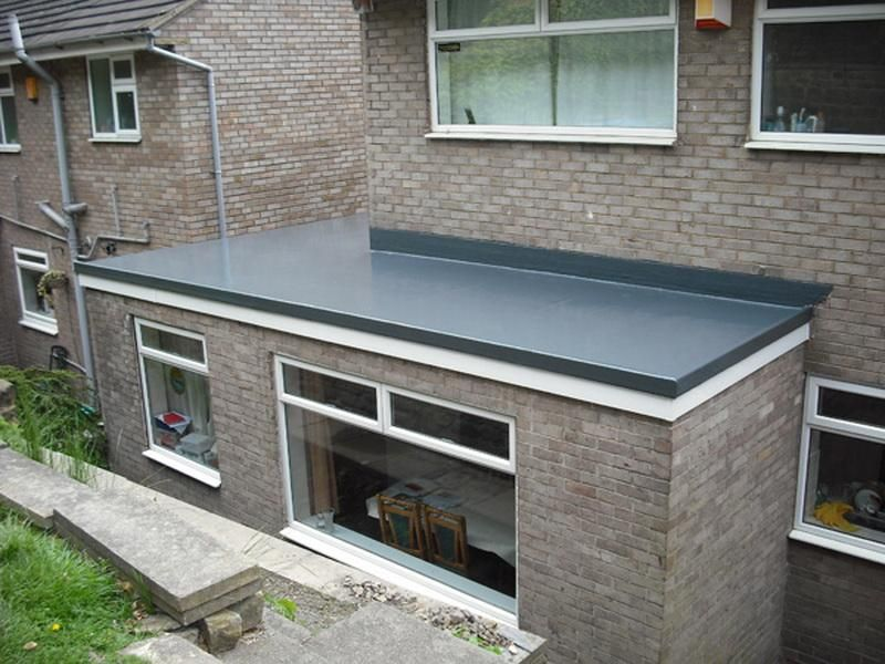 Home Improvment Flat Roof Materials After
