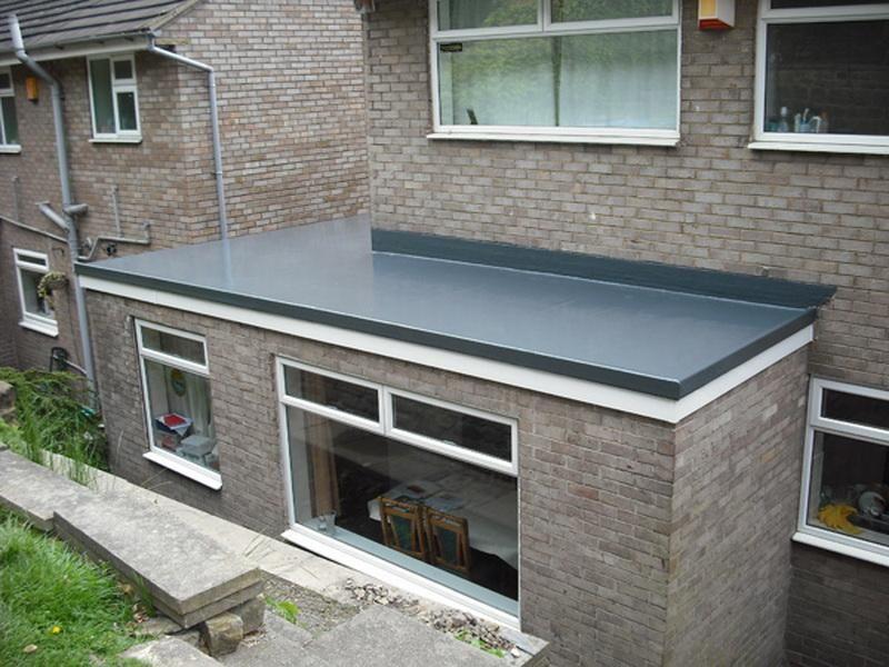 Home Improvment Flat Roof Materials After