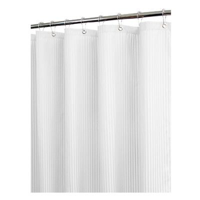 Watershed Solid Satin Stripe Shower Curtain & Reviews | Wayfair ...