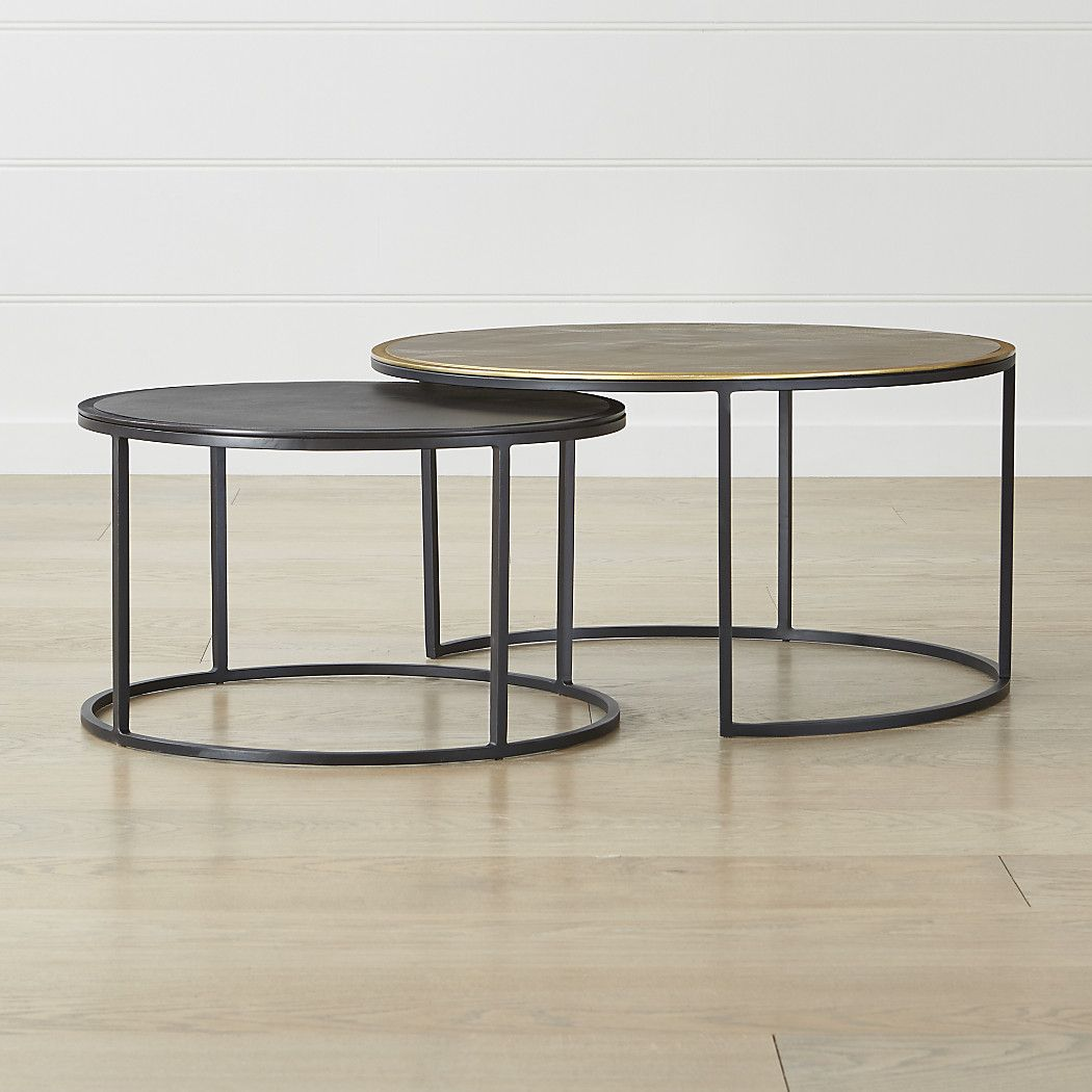 Knurl Nesting Coffee Tables Set Of Two Reviews Crate And Barrel Nesting Coffee Tables Coffee Table Crate And Barrel Coffee Table [ 1050 x 1050 Pixel ]