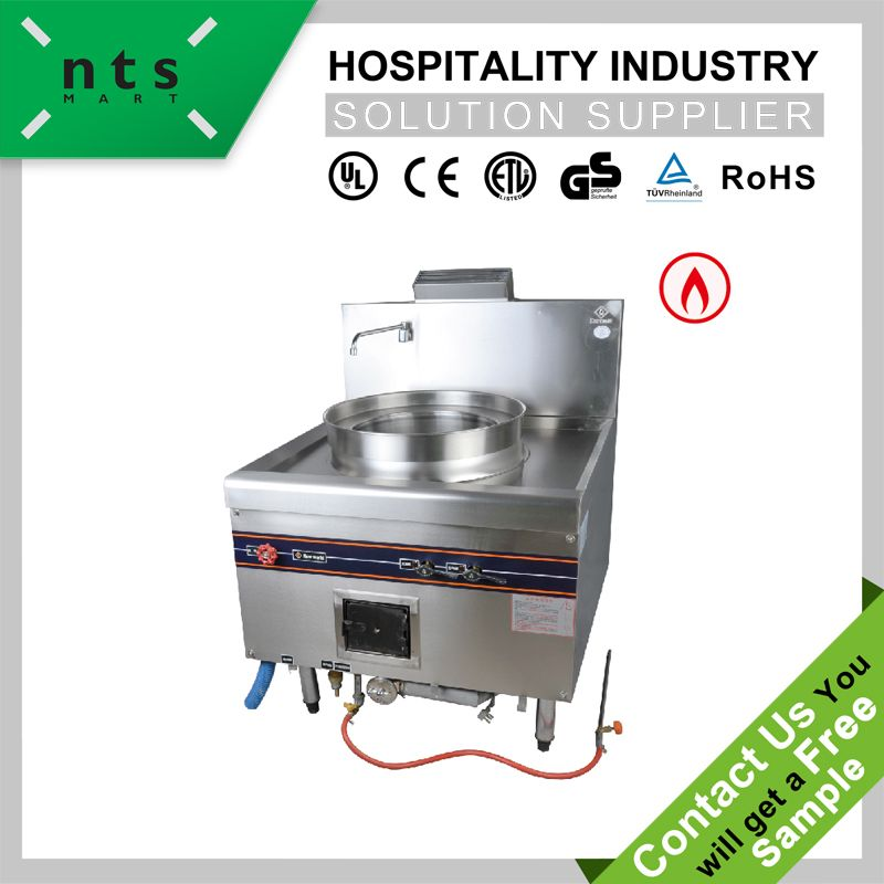 1 Burner Gas Cooking Steamer Commercial Gas Rice Steamer Kitchen Equipment
