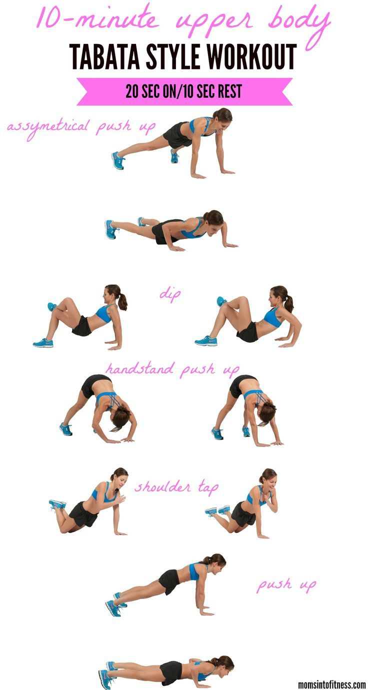 Best arms and back workout at home ideas on pinterest