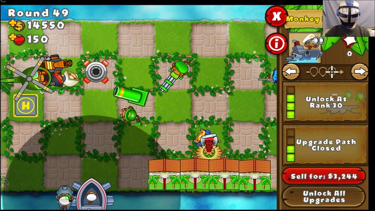 BLOONS TD5 CHECKERS ON EASY TOTEM EVENT | BLOONS TD 5 WALKTHROUGH
