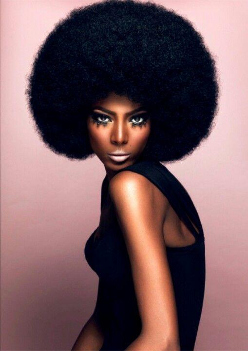 70 S Vibe Natural Hair Styles Big Hair Hair Beauty Cat