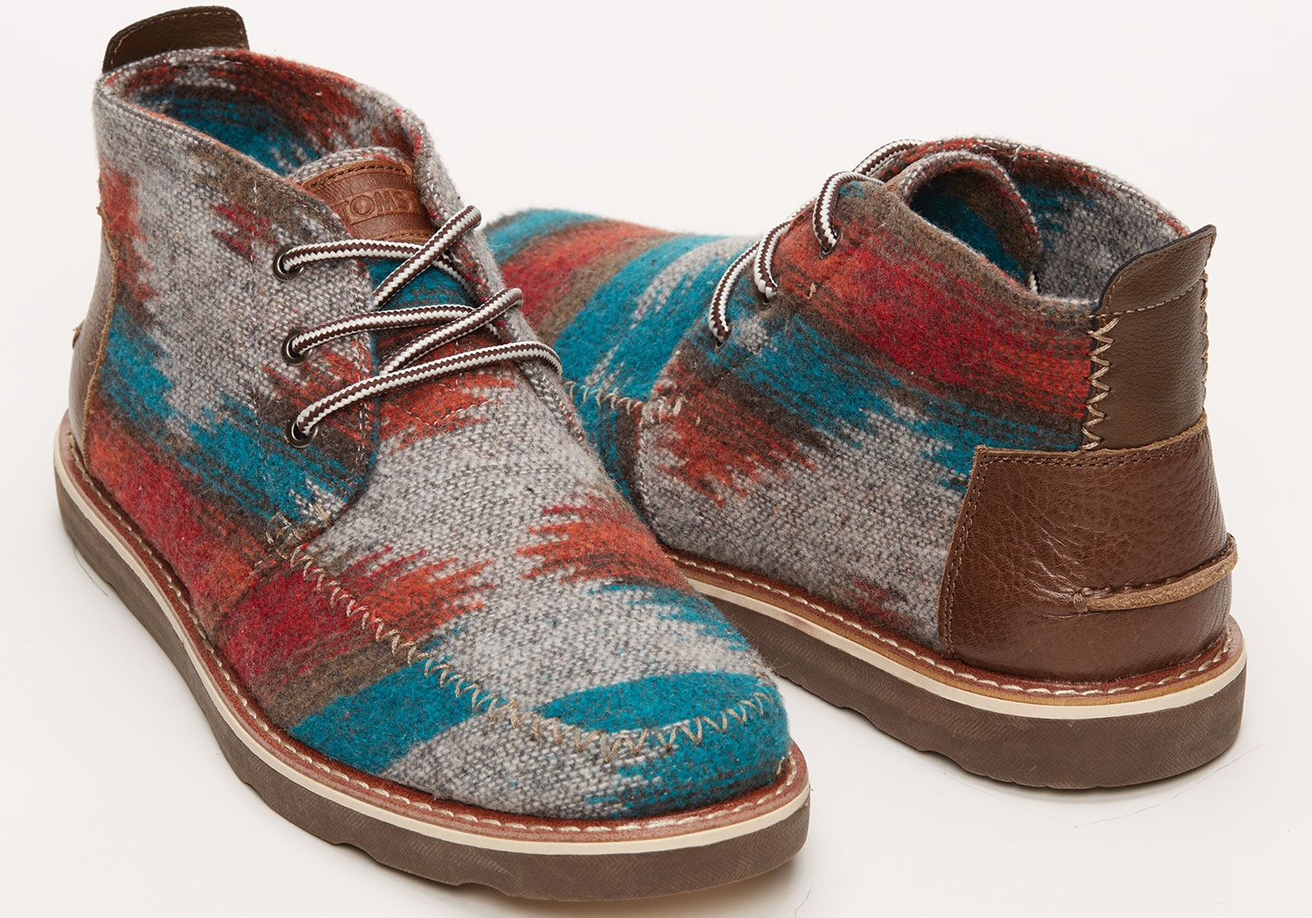 Chocolate Brown Wool Men's Chukka Boots | TOMS    for tim