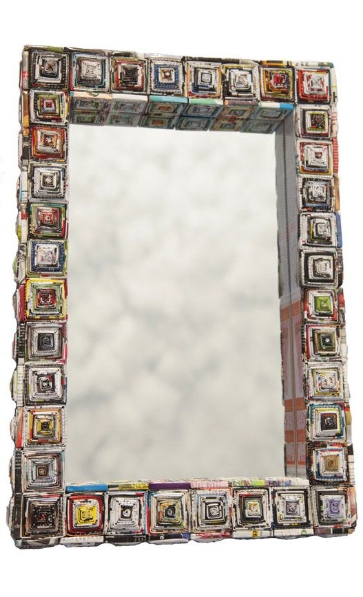 Pin by Alyce Hartley on Paper crafts | Pinterest | Mirror, Recycling ...