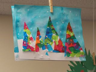 A day in first grade: My new favorite winter craft