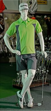 Male Golf Mannequin #shopforshops #custommannequin #golf #golfmannequin #custom #customsolutions #mannequins #sporting