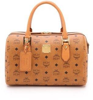 MCM Medium Boston Bag | Taschen, Handtasche