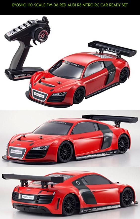 Kyosho 1 10 Scale Fw 06 Red Audi R8 Nitro Rc Car Ready Set