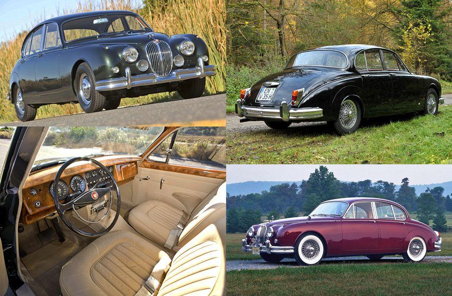 Классический седан Jaguar Mark 2 получил вторую жизнь ...