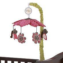 Cocalo Taffy Mobile Nursery Mobile Girl Musical Crib Mobile Baby Mobile