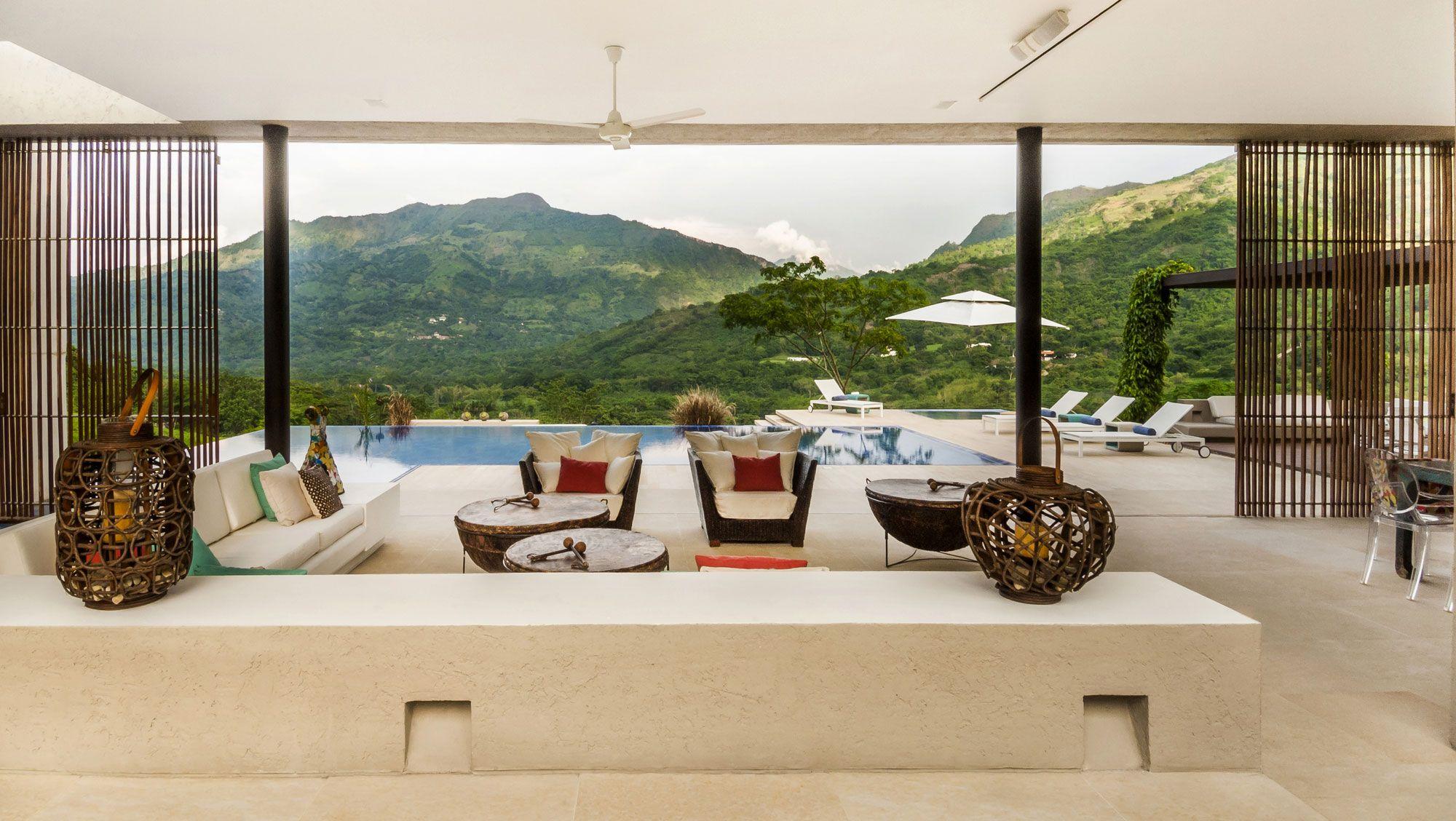 Interior aspect of House 3 in Villeta, Cundinamarca, Colombia by Arquitectura en Estudio