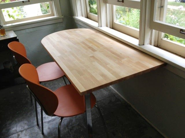 Stained Gerton Table Top (safely Secured To The Ground) An Accessible Table  Has A