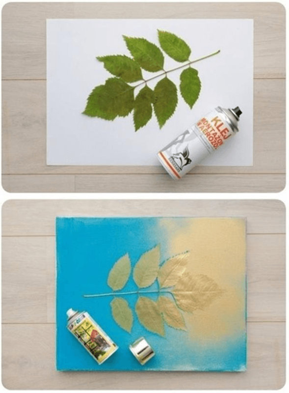 7 ideas para pintar cuadros f ciles en casa pintar - Ideas para pintar cuadros ...