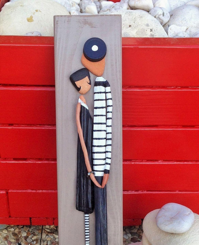 tableau des amoureux du bois flott bois flott. Black Bedroom Furniture Sets. Home Design Ideas
