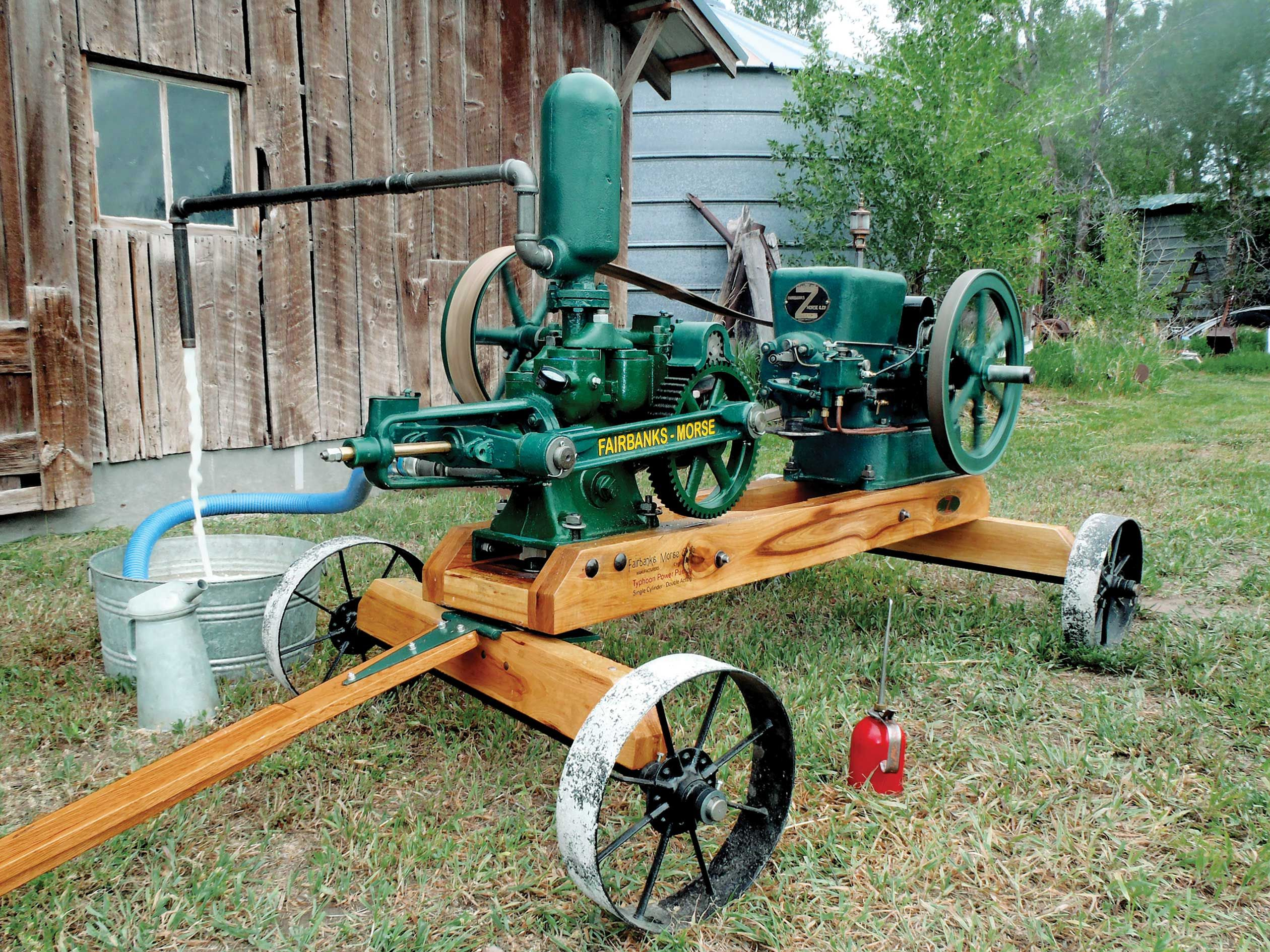 FairbanksMorse Z Farm Team Resurrection Restoration