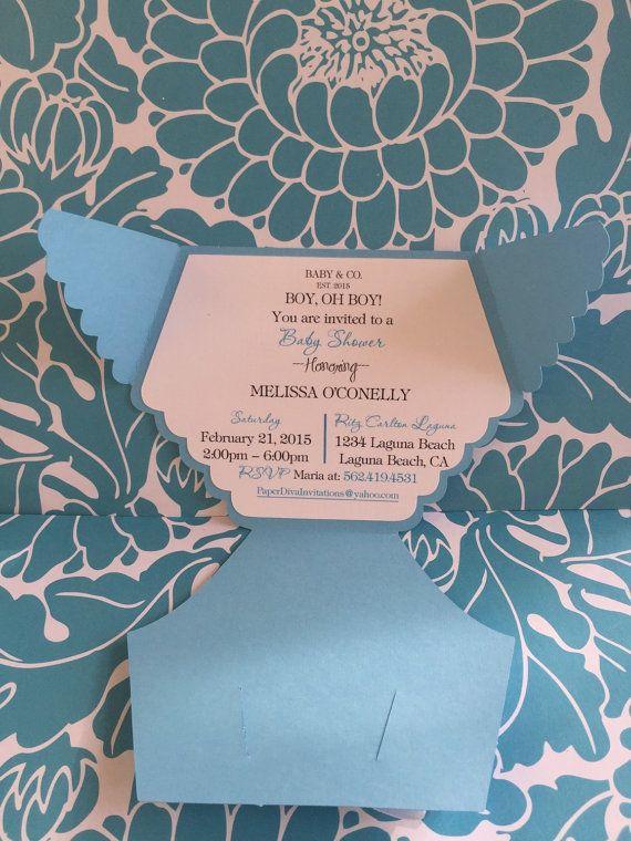 Baby & invitaciones de la ducha Co. 25 por PaperDivaInvitations
