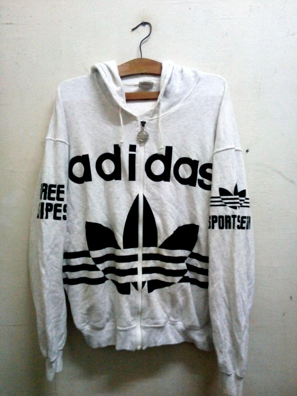 Sale Rare !! Vintage Lolife OG ADIDAS Hoodie Sweater Big