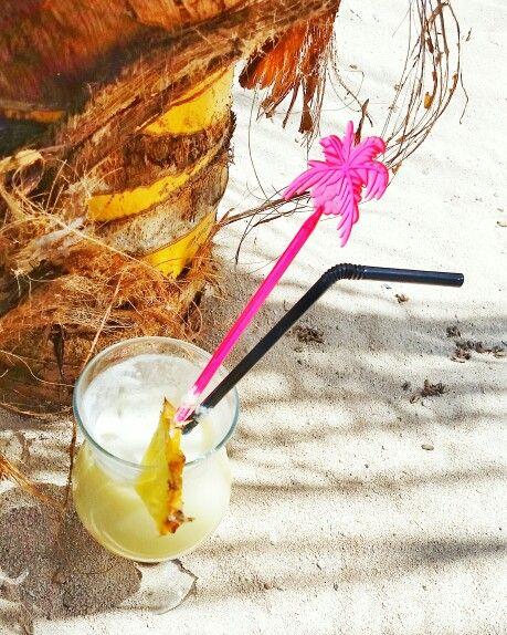 Piña Colada time in Mauritius  (Photo by Barbara Loots)
