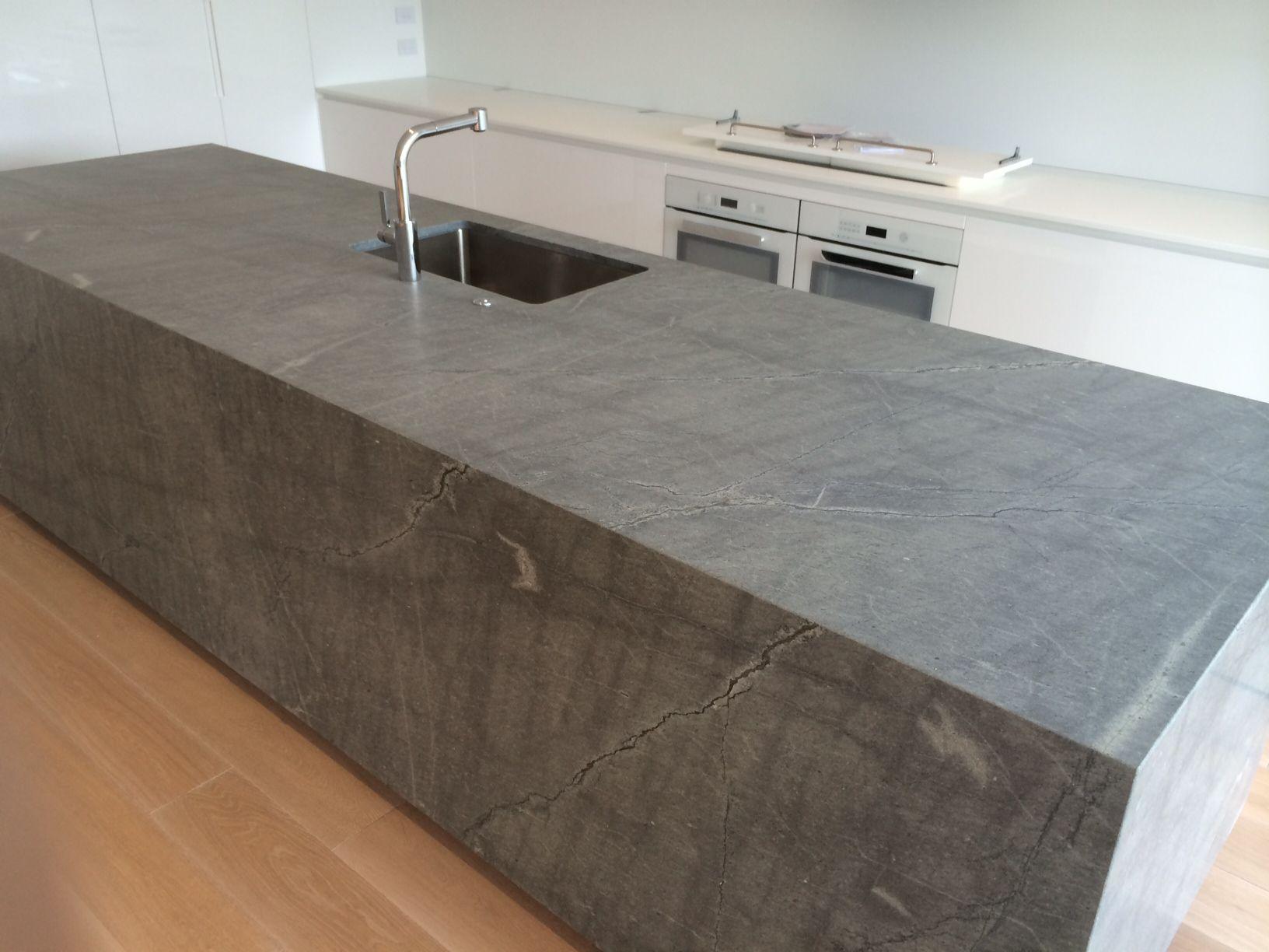 Atlantic Granite Kitchen Benchtop Sce Stone Design Stone Benchtop Stone Kitchen Granite Kitchen