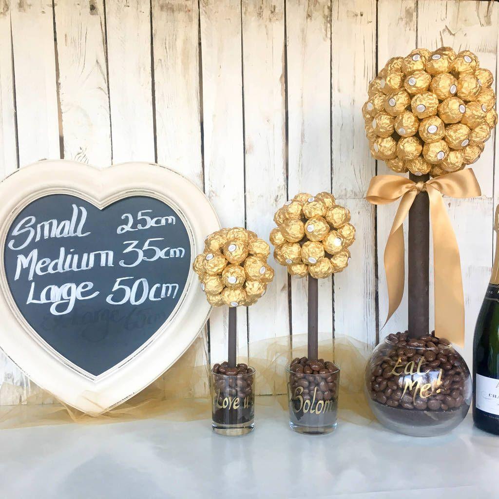 Personalised Ferrero Rocher® Sweet Tree | Sweet trees