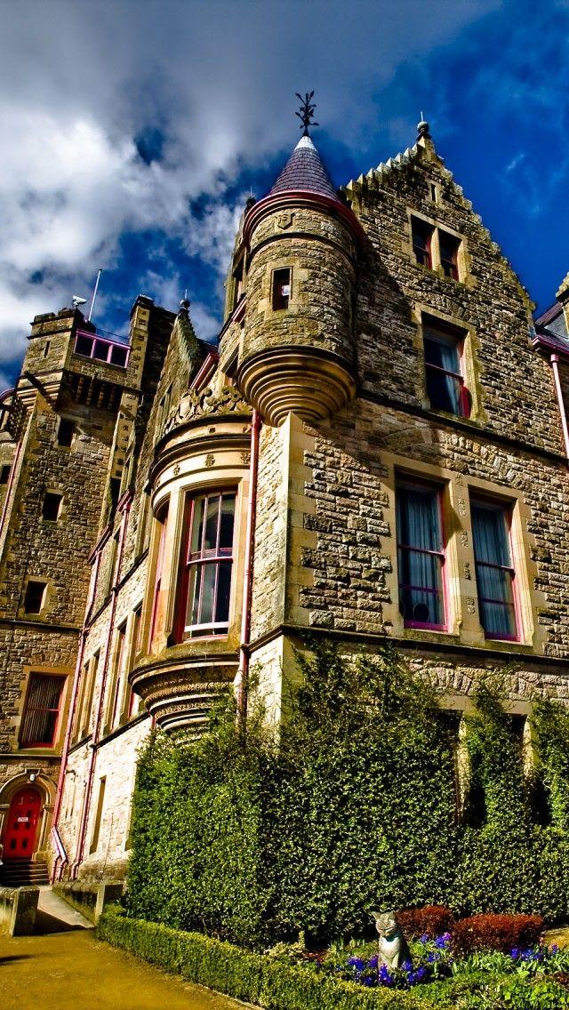 Belfast Castle, Northern Ireland Belfast castle, Castle
