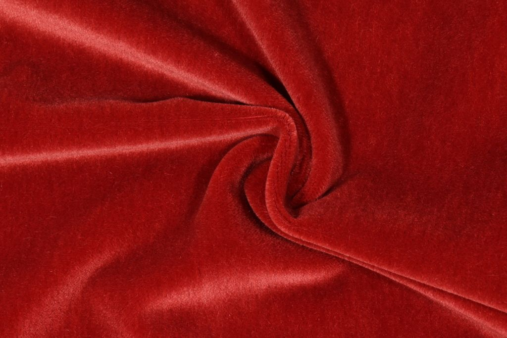 Designer Mohair Velvet Upholstery Fabric In Terracotta 31 95 Per