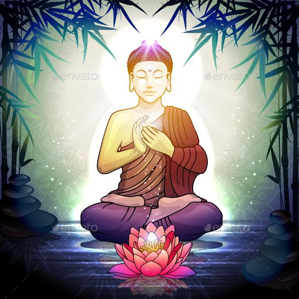 Buddha in meditation with lotus flower religion conceptual buddha in meditation with lotus flower religion conceptual mightylinksfo