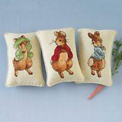 Storybook Rabbit Pillow
