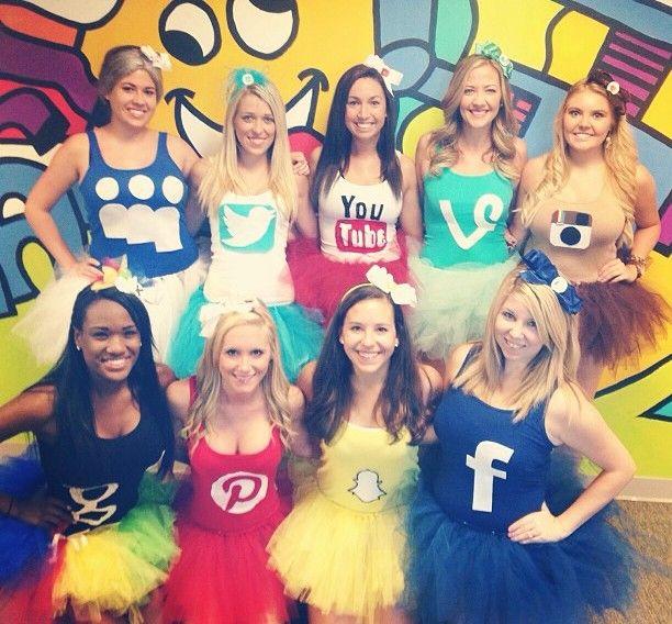 Group Halloween Costumes - Tweenhood Costumes Pinterest Group - cool group halloween costume ideas