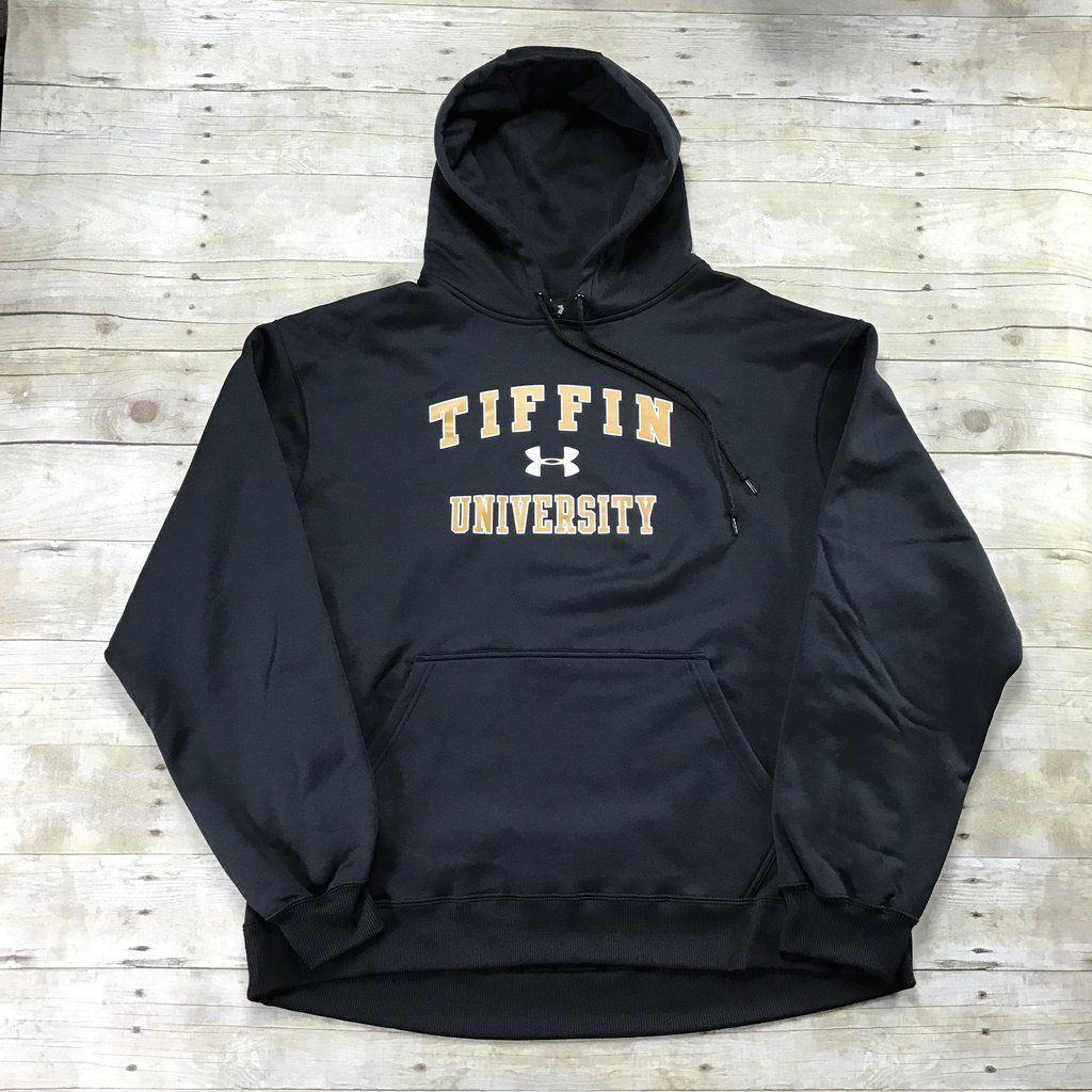 Under Armour Tiffin University Black Sweatshirt Mens Size Xxl Mens Sweatshirts Black Sweatshirts Mens Sportswear