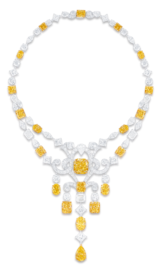 http://www.graffdiamonds.com/jewels/category/unique/jewel/yellow-and-white-diamond-scroll-motif-necklace/