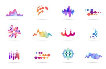 Sound Waves Sound Waves Sound Waves Design Graphic Design Background Templates