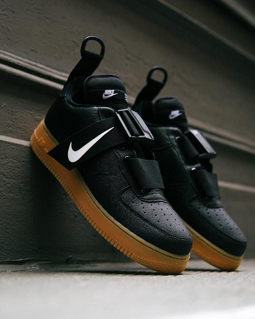 low priced 42e1d 4da5f  Nike Air Force 1 Utility  Black Gum  +  Sequoia  Available Now, In-Store  and Online