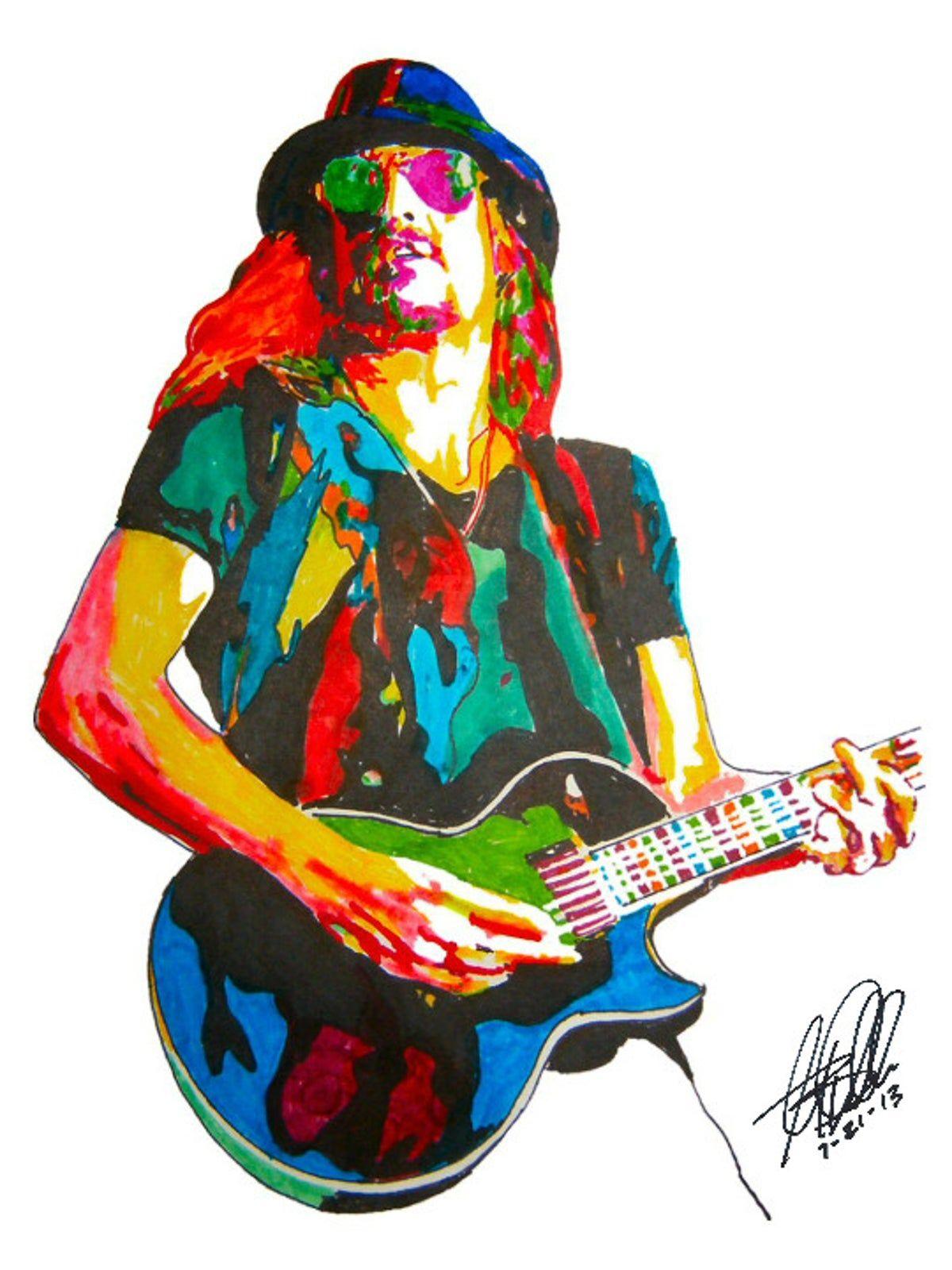kid rock singer guitar pop music poster