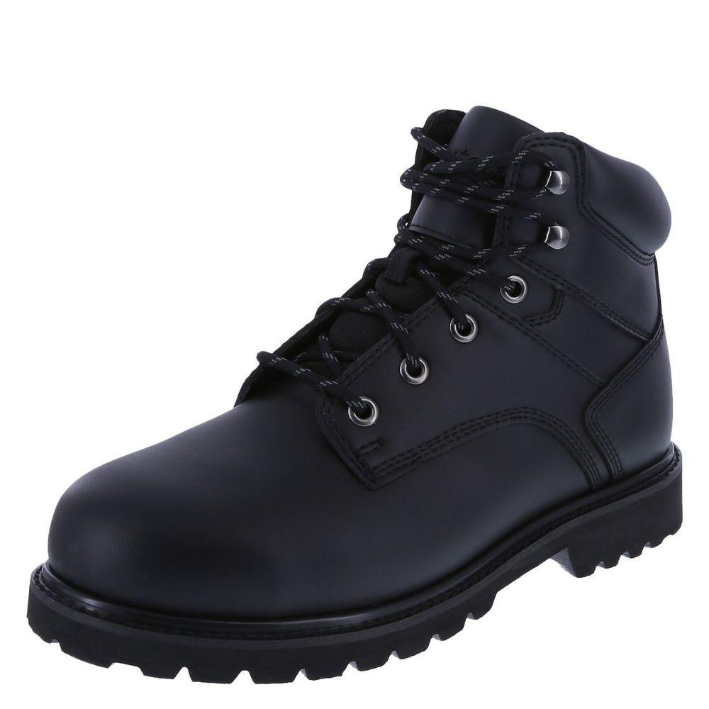 Work boots men, Steel toe boots