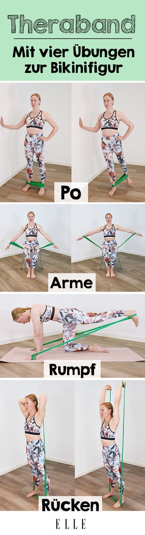 These Theraband exercises will completely change your body -  Those who rely on strength training to...