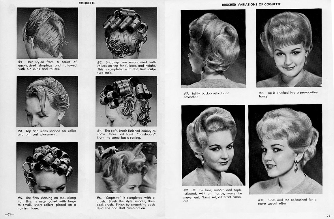 I Love Trading Because I Got This Great 1960s Hairstyle Book Bobby Pin Blog Vintage Hair And Make Hairstyle Books Vintage Hairstyles Hair And Makeup Tips