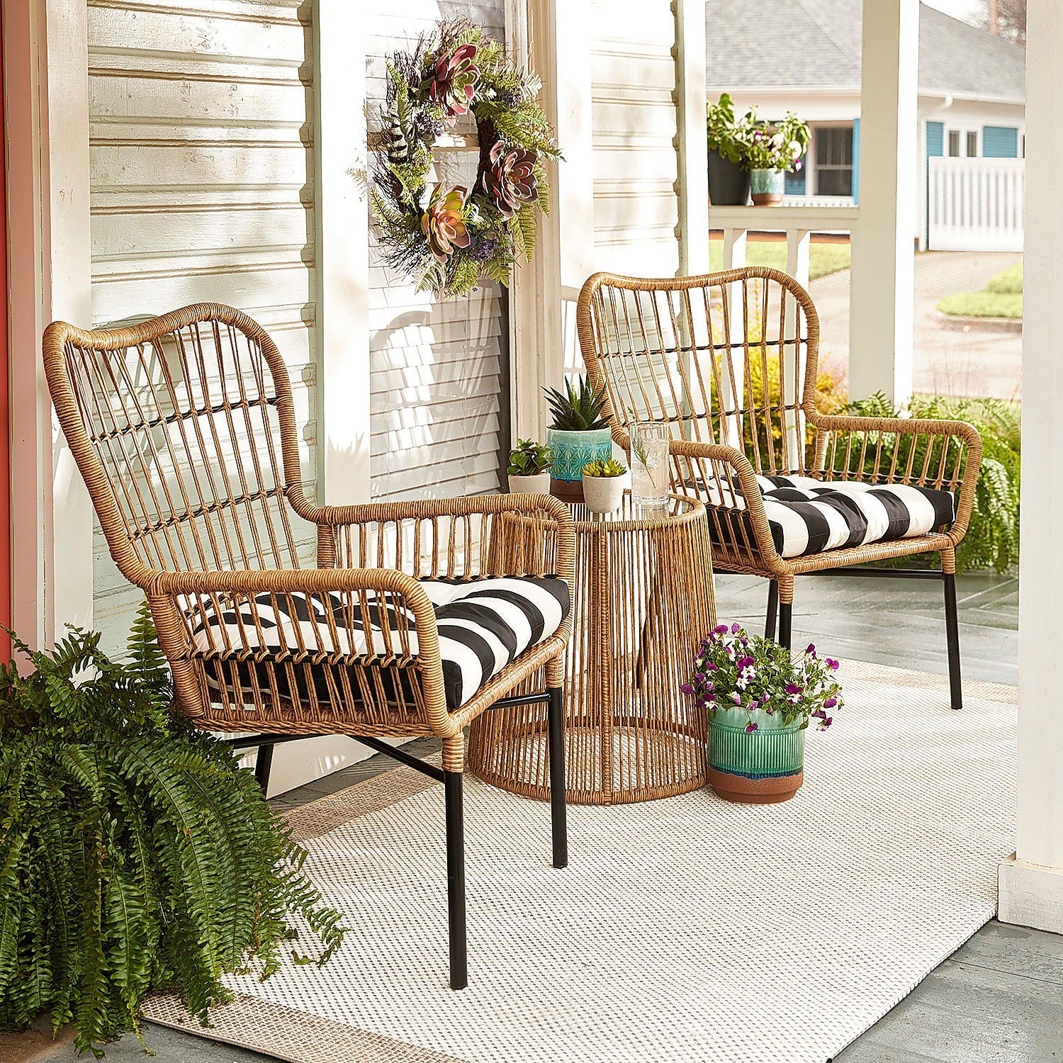 Sand Chat Chair Patio Decor Best Outdoor Furniture Decor