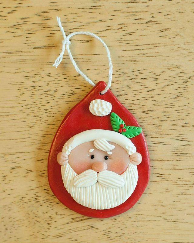 Polymer Clay Christmas Decorations.Megan Durocher Christmas Holiday Crafts Polymer Clay