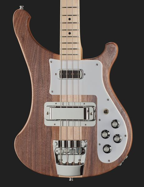 Electric Bass  Body: Walnut with rounded edges, Neck-through-body, Fretboard…